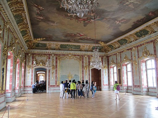 Rundale Palace reception hall