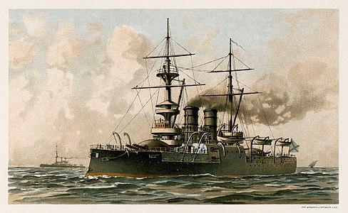 Russian battleship Dvenadsat Apostolov