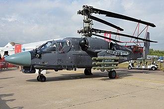 """Kamov Ka-50 - Ka-52K """"Katran"""" Russian Navy"""