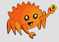 Rust Mascot Ferris Bitcoin Grey.png