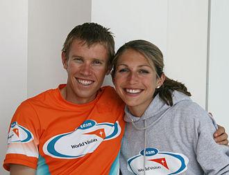 Ryan Hall (runner) - Ryan and Sara Hall