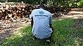 Séance prise de photo par un Wikimédien du Bénin au jardin botanique UAC.jpg