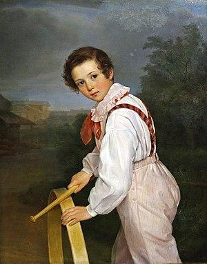 1831 in Russia - Sergei Bibikov by Pimen Orlov