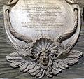 S.m. maggiore, battistero, monum di odoardo santarelli con busto di alessandro algardi (1640 ca.) 04.JPG