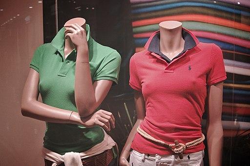 SEXY Ralph Lauren. Mannequins