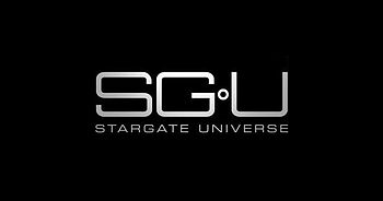 English: stargate universe logo Français : Log...