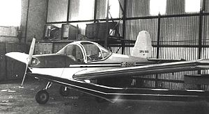 SIPA S.1000 Coccinelle - SIPA S.1000 Coccinelle No. 01, Chavenay airfield, Paris, 1967
