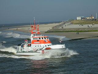 Bernhard Gruben vor Norderney