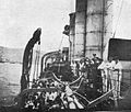 SMS DRESDEN in Valparaiso, Chile, 13. November 1914. Blickrichtung Backbord Richtung Bug.jpg