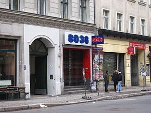 SO36 - Entrance at Oranienstrasse
