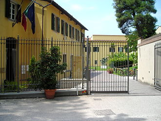 Sant'Anna School of Advanced Studies - Sant'Anna School of Advanced Studies: main gate