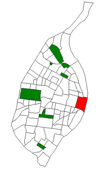 Downtown St. Louis - Image: STL Neighborhood Map 35