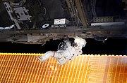 STS-114 Soichi Noguchi EVA-1