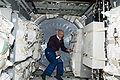STS-131 Alan Poindexter works in the Leonardo MPLM.jpg