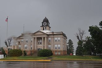 Sully County, South Dakota - Image: SULLY COUNTY COURTHOUSE, ONIDA, SD