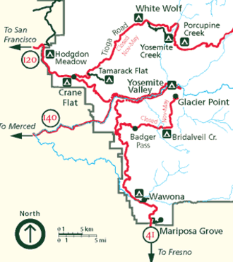 Mariposa Grove - Mariposa Grove is at the southern entrance to Yosemite