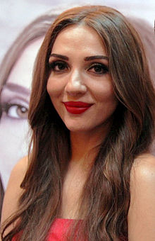 Description de l'image Sabina Babayeva (Eurovision Song Contest 2012).jpg.