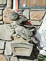 Sacral sculpture 1 near church of Blessed Virgin Mary Mother of Consolation in Wrocław.JPG