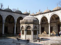 Sadirvan and courtyard of Yeni Valide Mosque.jpg