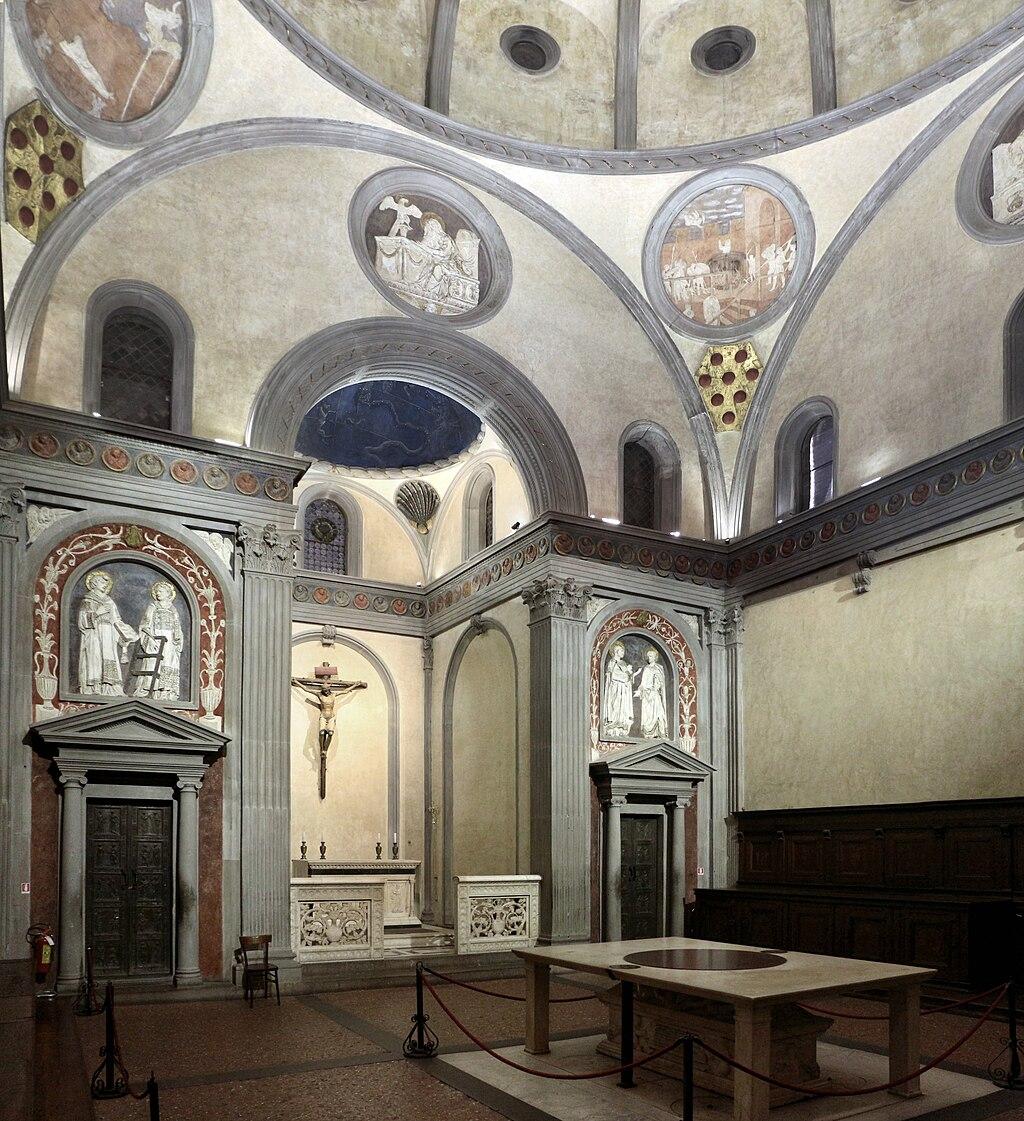 Sagrestia Vecchia, Basilica of San Lorenzo, Firenze
