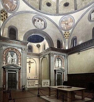 Sagrestia Vecchia - Interior