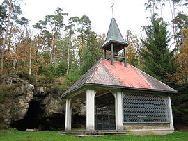 Chapel and cave of Saint-Martin