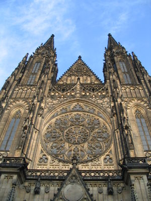 Religion in the Czech Republic - The Cathedral of St. Vitus is the seat of the Catholic Archbishop of Prague.