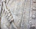 Sainte Agnes of Rome, Agnes de Rome, Belles du Nord, restauration PBA Lille 26 juillet 2016 Lamiot b 06.jpg