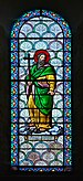 Saintes 17 Vitrail de Saint Seronius basilique St-Eutrope 2014.jpg