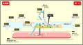 Sakurayama station map Nagoya subway's Sakura-dori line 2014.png