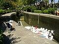 Sallèles-d'Aude, Ecluse sur le canal de Jonction.jpg
