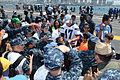 San Diego Chargers visit USS Ronald Reagan 130828-N-UK306-282.jpg