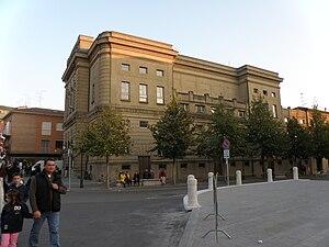 Italiano: Il teatro comunale di San Felice sul...