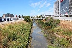 San Tomas Aquino Creek - San Tomas Aquino Creek in Santa Clara