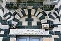 San michele di murato, facciata, con rilievi del 1140 ca. 08.jpg
