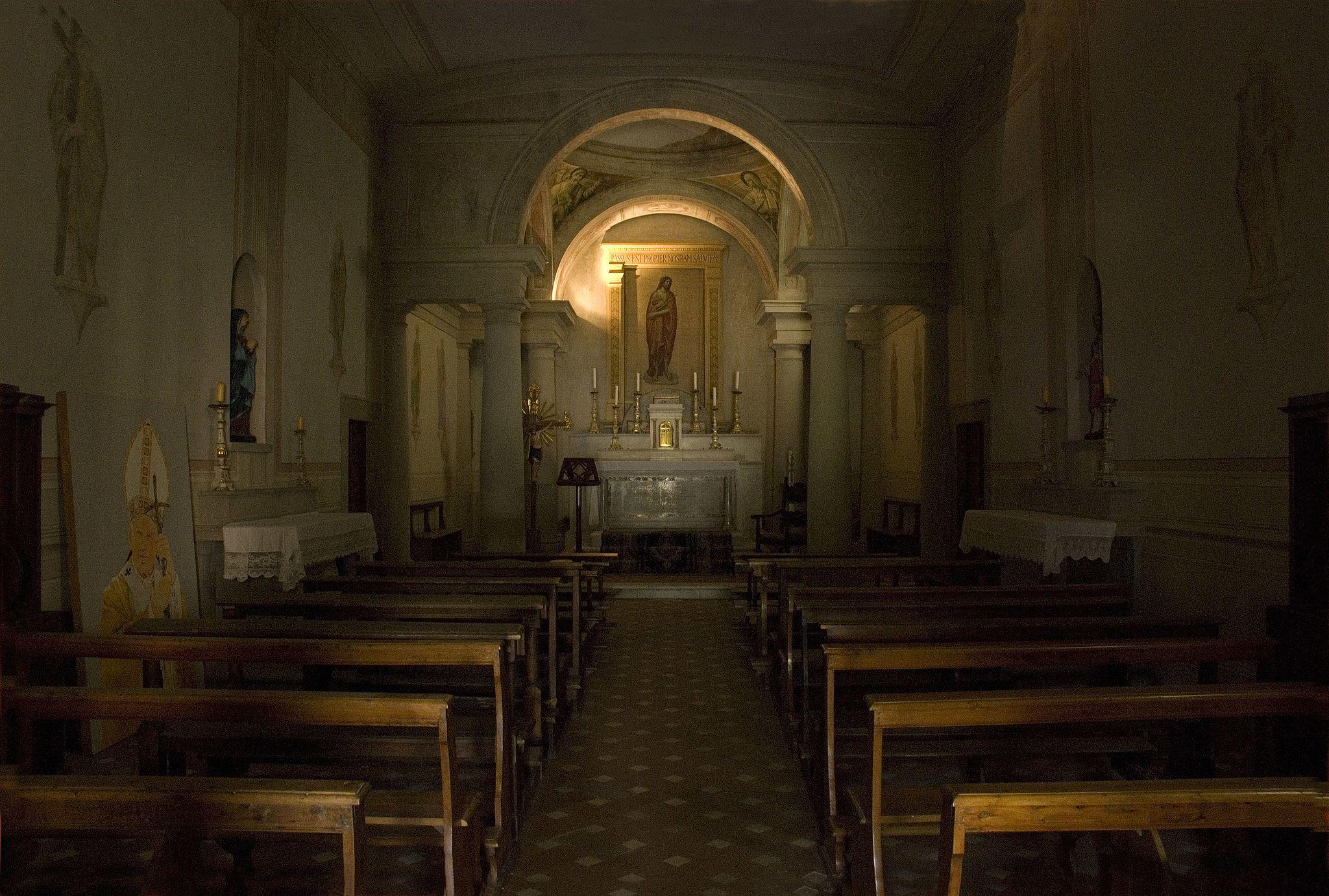 Pieve di San Cresc interno i (Greve in Chianti)