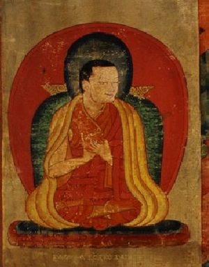 Riwoche Monastery - Sanggye On Drakpa Pel, founder of Riwoche Monastery