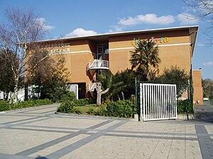 Ikastola - The Salbatore Mitxelena ikastola of Zarautz