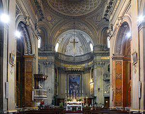 Sant'Eustachio - The main altar