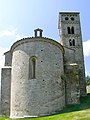 Santa Cecília de Molló, absis i campanar.jpg