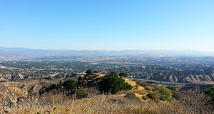 Santa Clarita Valley - Overlooking Santa Clarita from Ed Davis Park at Towsley Canyon.