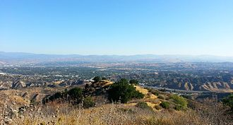 Santa Clarita, California - Overlooking Santa Clarita from Ed Davis Park in Towsley Canyon.