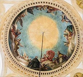 Santa Giustina (Padua) - Corridor of the Martyrs - Ceiling