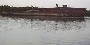 Santiago (1856 ship) - Wreck of the Santiago