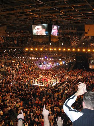 SAP Arena - Image: Saparena boxen