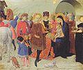 Sassetta - Anbetung der Heiligen Drei Könige - ca1430.jpeg