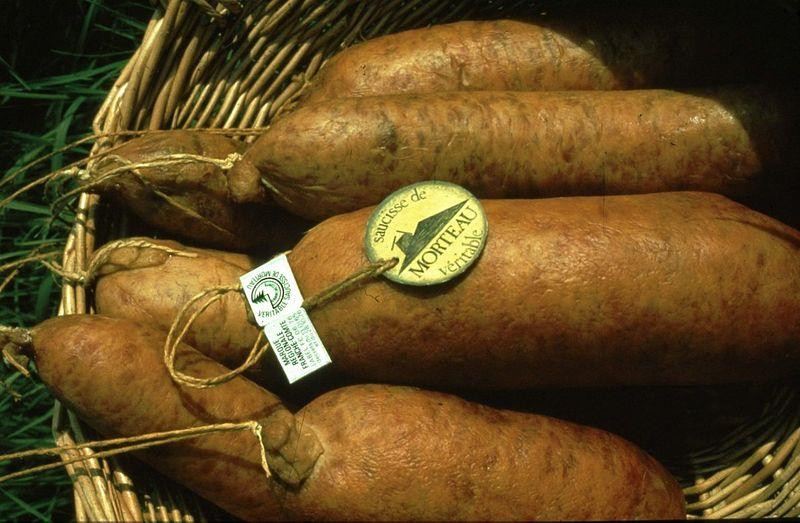 Image:Saucisses de Morteau - Photo CRT.jpg