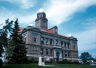 Saunders County, Nebraska - Image: Saunders County Courthouse