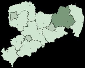 Bautzen (district) - Image: Saxony bz 2008