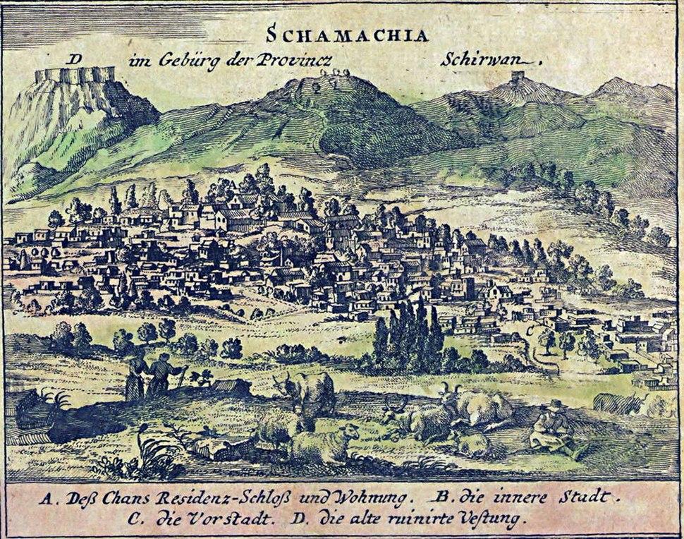 Schamachia 1734
